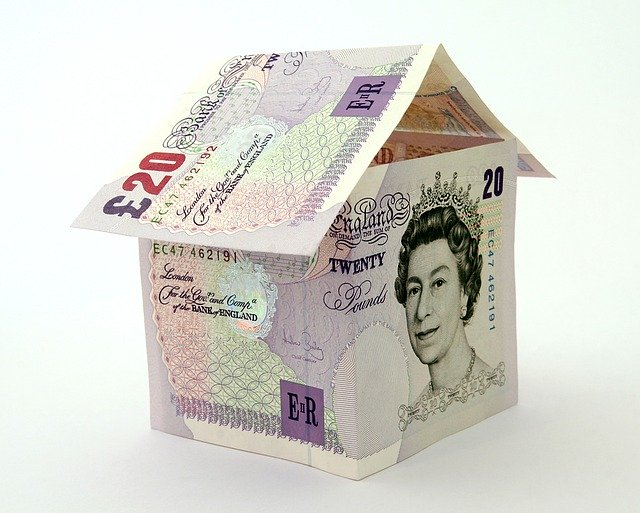 A house made of pounds, posing a question of how can self-removals cost more than professional ones.